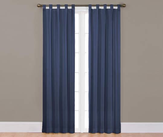 Ellery Homestyles Colorado Tab Top Curtain Panel Pairs Panel