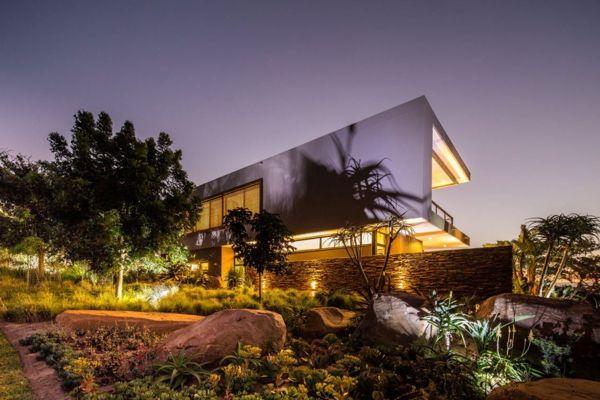 Une maison contemporaine exotique en Afrique