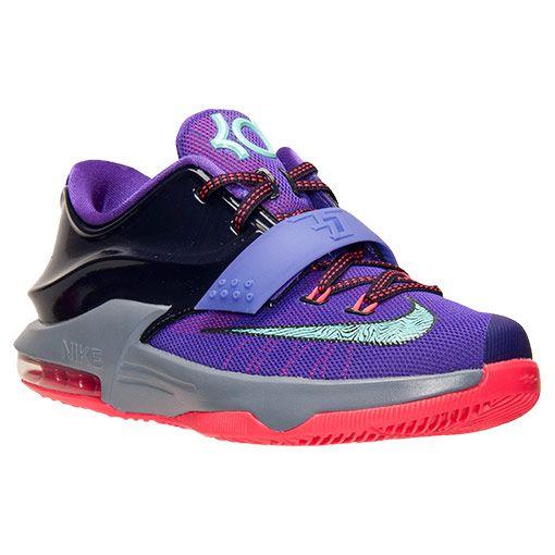 b92459f6cf50 Kids  Grade School Nike KD 7 Basketball Shoes