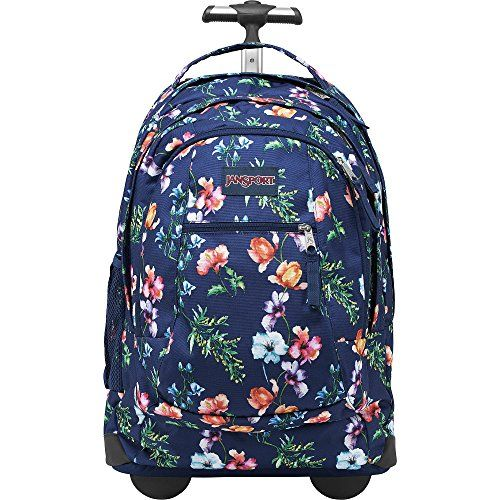 Jansport Driver 8 Rolling Backpack With Wheels Multi Navy