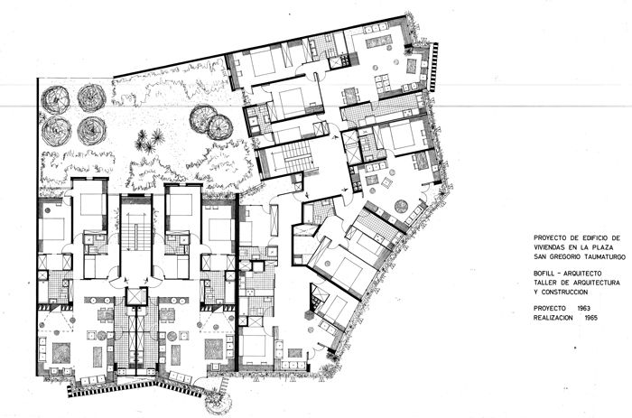 R bofill barcelona 1963 habiatge col lectiu - Escuela de arquitectura de barcelona ...