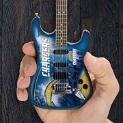 San Diego Chargers 10 Collectible Mini Guitar