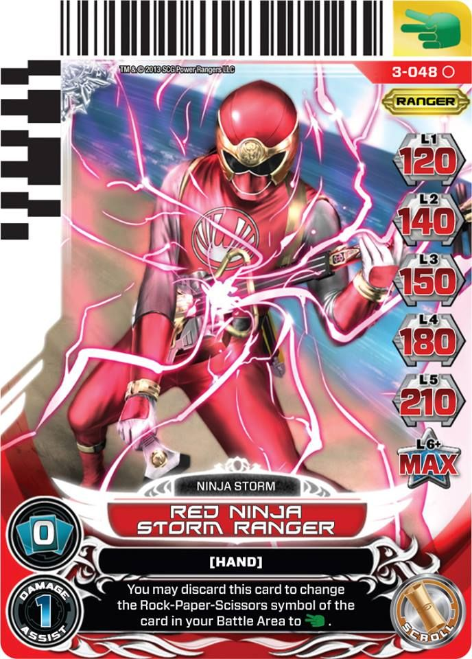 Universe of Hope Power Rangers Action Card Game (Series