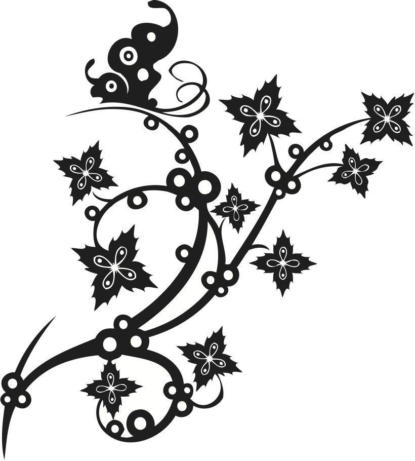 Flower Vines Free Rose Tattoo Designs