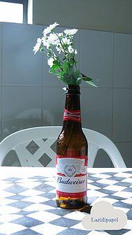 Decoração: Chá bar. | laridipapel Garrafinhas.