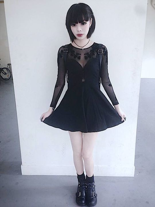 35cd1aa7af007 Wylona Hayashi | Goth | Fashion, Gothic fashion, Pastel goth fashion