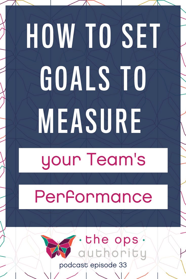 If you have a team, you need a system in place to measure their performance.  By setting Key Results Areas for each position in your small business, you give your new hires goals to strive for and you have a way to track performance. Learn the ins and outs of Key Results Areas in episode 33 of The Ops Authority podcast.