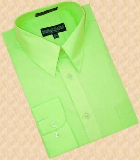 Light Green Mens Dress Shirt Photo Album - Fashion Trends and Models