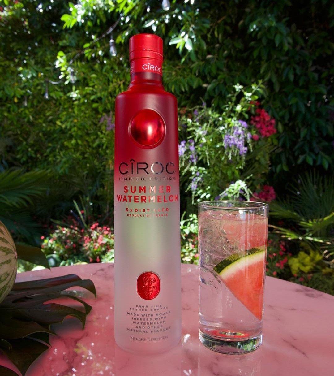 Ciroc Watermelon Ciroc Drinks Ciroc Bottle Ciroc Vodka