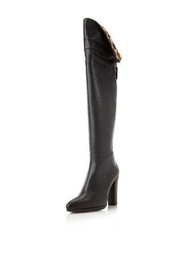 82% OFF Stuart Weitzman Women\'s Zookeeper Boot (Black Calf)   Watch ...