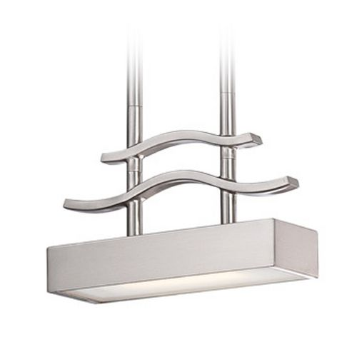 Nuvo Lighting Modern LED Mini-Pendant Light with White Glass | 62-134 | Destination Lighting