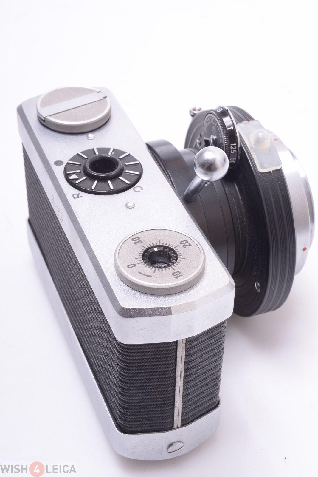 Zeiss Werra Microscope Camera W Perfect Working Shutter Adapter Camera Zeiss Antique Cameras