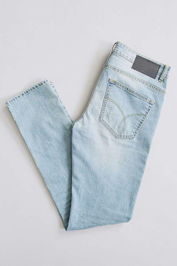 Slide View: 5: Calvin Klein Malibu Wash Stretch Skinny Jean