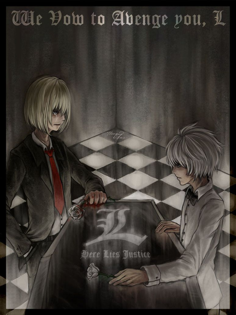 Vow of Vengence by yuumei on DeviantArt~~Mello and Near - L's successors.