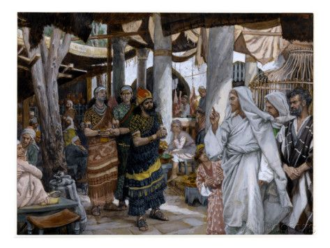 The Healing of the Ruler's Son, Illustration for 'The Life of Christ', C.1884-96 Giclee Print by James Jacques Joseph Tissot at AllPosters.com