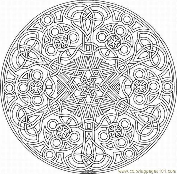 intricate kaleidoscope coloring pages for kids brandon james peg it board - Intricate Coloring Books