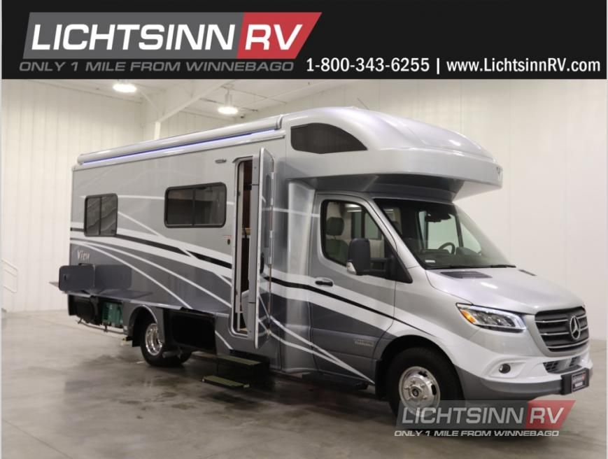 New 2021 Winnebago View 24v Motor Home Class C Diesel At Lichtsinn Rv Forest City Ia 72124vb In 2020 Motorhome Winnebago Fuel Efficient
