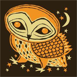 Furturtle Night Owl Print
