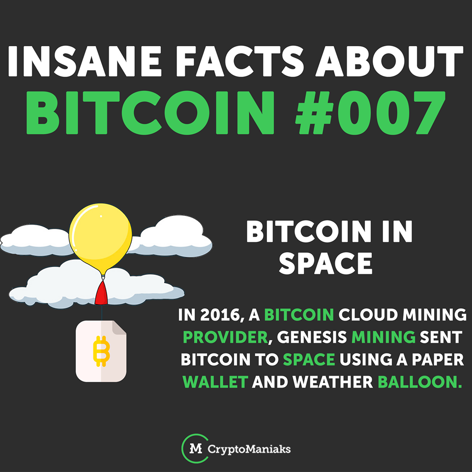 Bitcoin Fact 007 Weather Balloon Cloud Mining Bitcoin