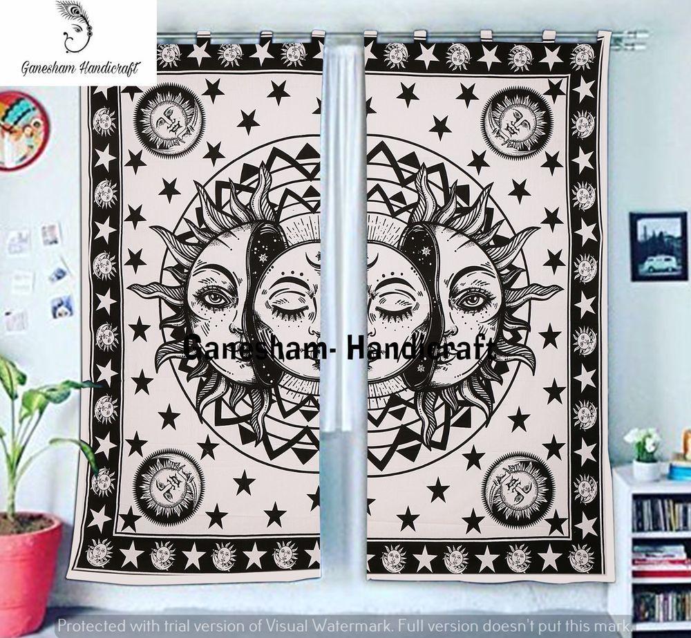 Home & Garden Mandala Yin Yang Hippie Curtain Valances Drapes Dorm Balcony Room Door Window Curtains, Drapes & Valances