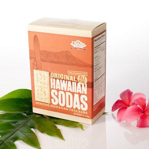 All Natural Hawaiian Soda Crackers, Original Flavor