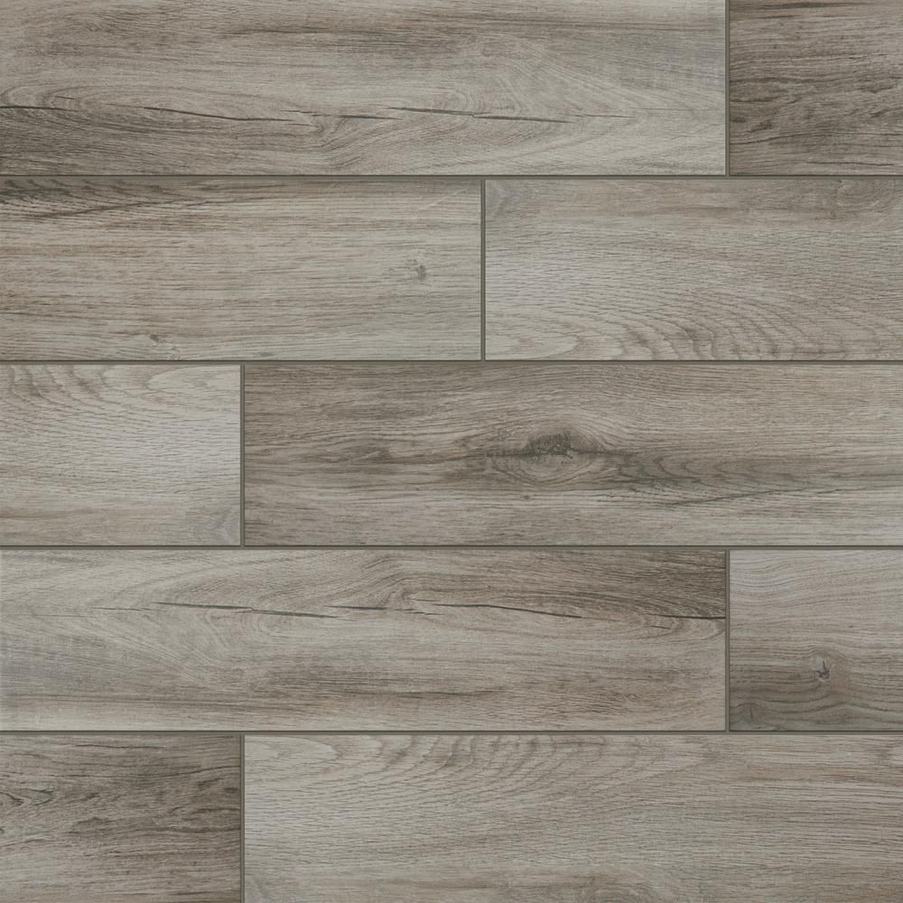 lifeproof shadow wood 6 in. x 24 in. porcelain floor and wall tile