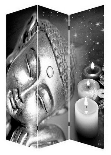 kamerscherm boeddha met 3 led verlichting batterij