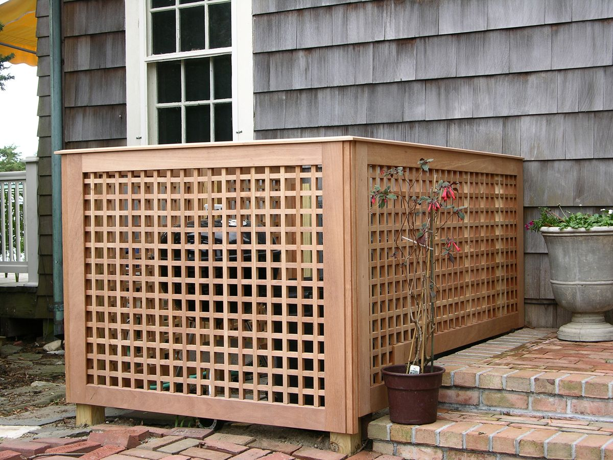 Custom Spanish Cedar Fences, Norman Orsinger Woodworking