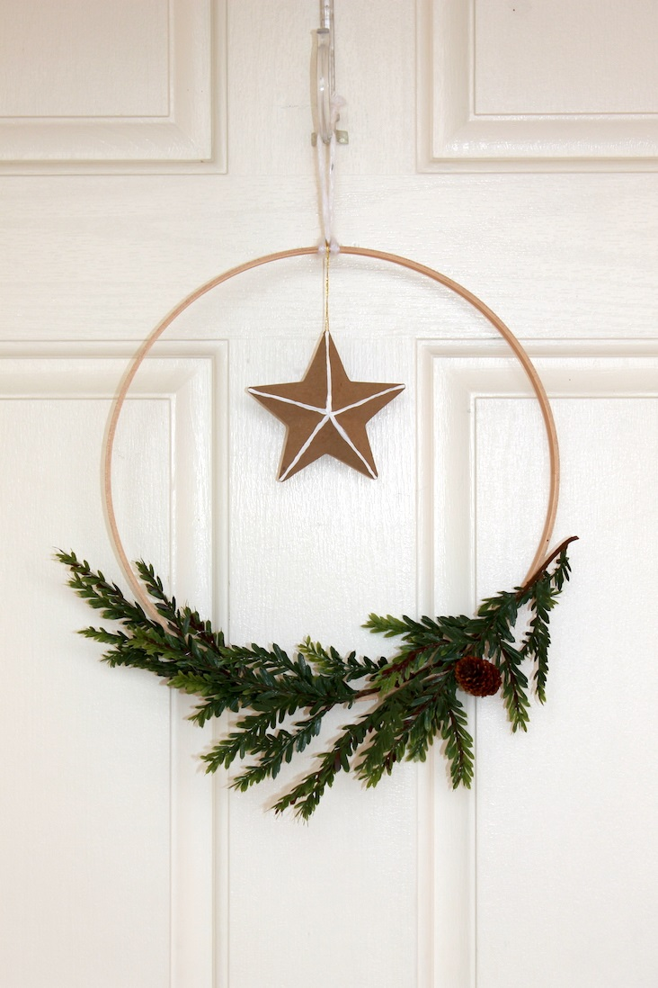 How To Make A Modern Diy Scandinavian Holiday Wreath Tips Forrent In 2020 Christmas Wreaths Diy Holiday Wreaths Scandinavian Holidays