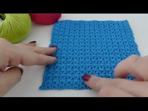 Einfaches Waffelmuster Häkeln Für Babydecken Topflappen Häkeln