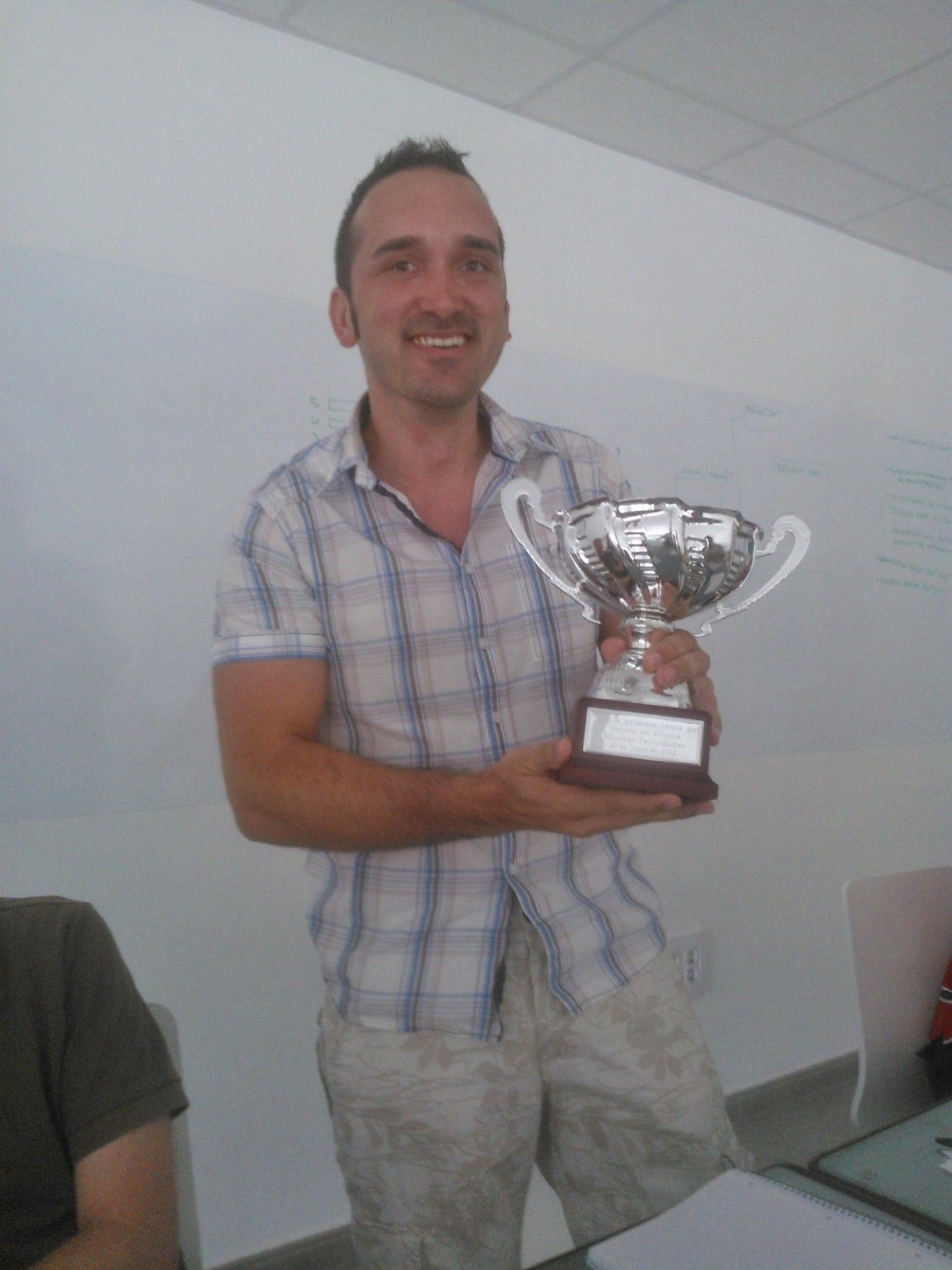 Congratulations to Andrés, our Top Verum Trustmark Salesman!