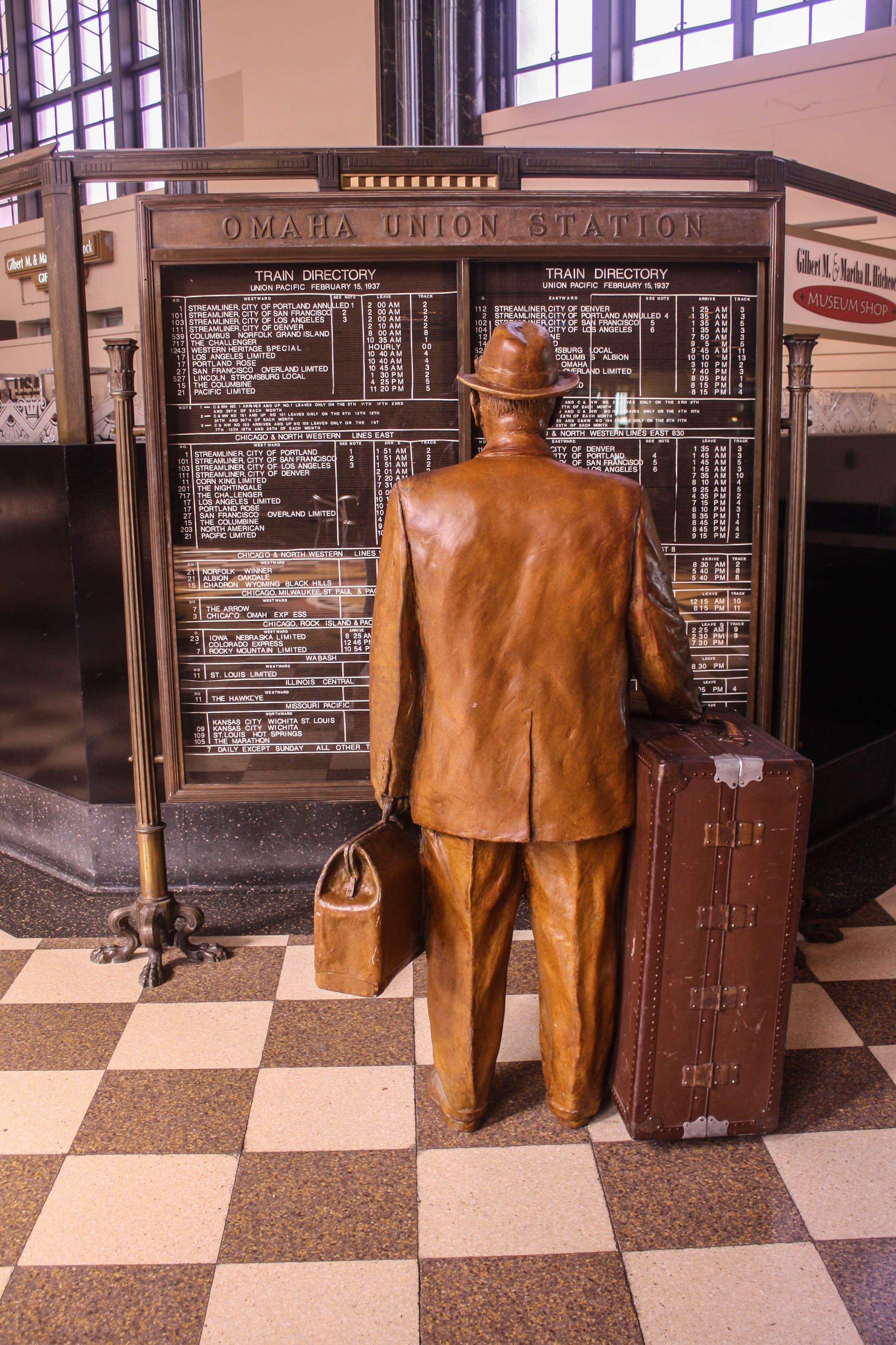 Union Station, Omaha, Nebraska Union station, Train