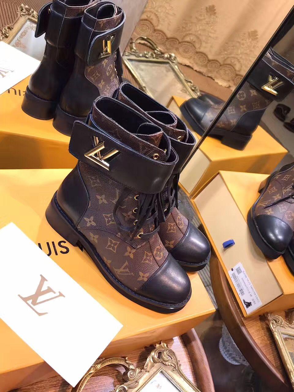 2e1052d33891 Louis Vuitton lv woman boots