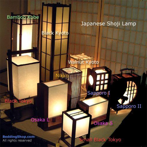 Natural Comfort   Japanese Shoji Lamp At The BeddingShop.com