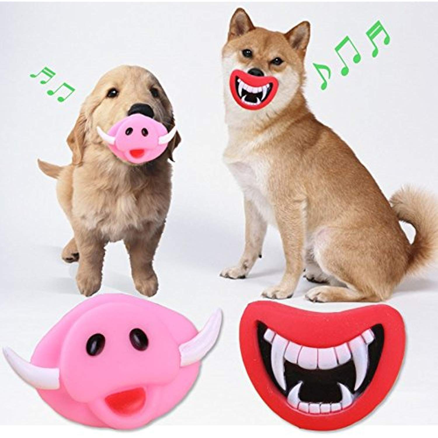 Funny Dog Toys Ciciia S Oinky And Fangy Dog Squeaky Toys Funny