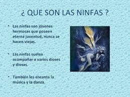 Resultado de imagen para que son las ninfas
