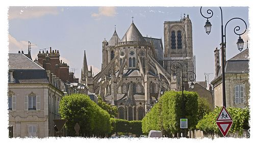 bourges cathedral france