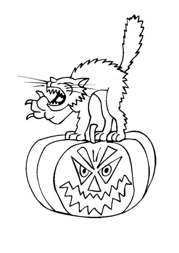 Dibujos para Colorear Halloween 9 | Dibujos para colorear para niños ...