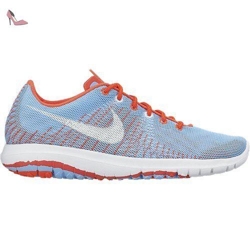 Nike - Flex Fury GS - Couleur: Bleu-Orange - Pointure: 38.0 -
