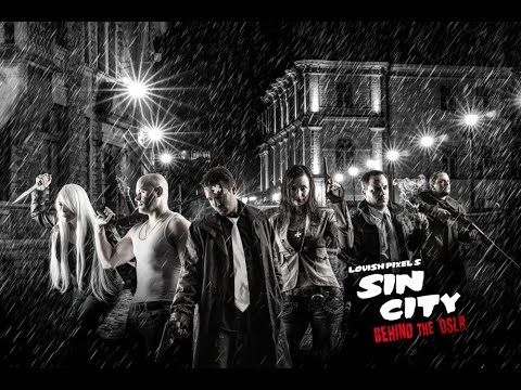 Step by Step Photoshop Tutorial - Sin City Photoshoot - Utah Photography