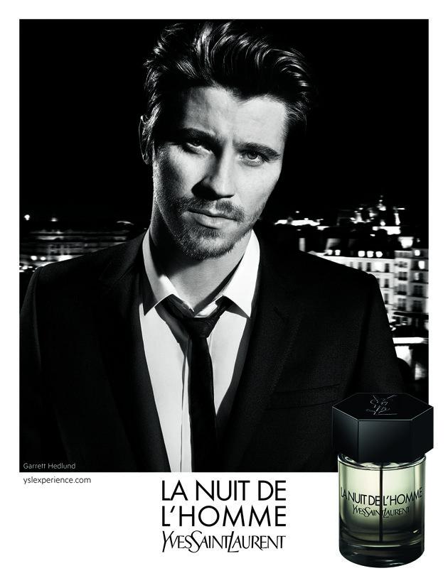 Yves Saint Laurent La Nuit De L Homme Perfume Ad Yves Saint Laurent Beaute Homme Yves Saint Laurent