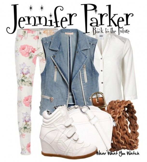 Get The Look Jennifer Parker S Outfit From Back To The Future