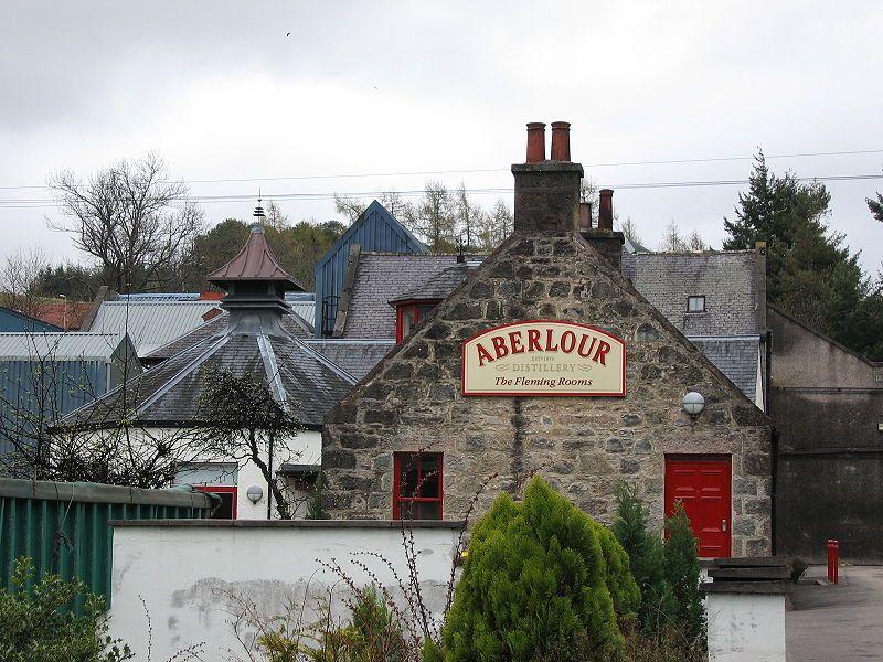 Aberlour Distillery, Aberlour town, Strathspey, Scotland ... one day ....