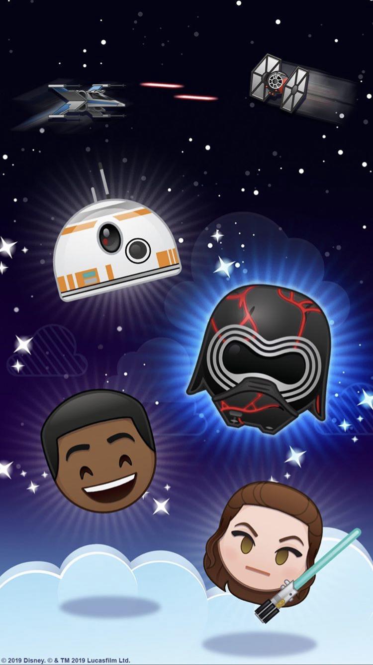 Star Wars Disney Emoji Blitz Wallpaper Disney Emoji Disney Star Wars Disney Emoji Blitz