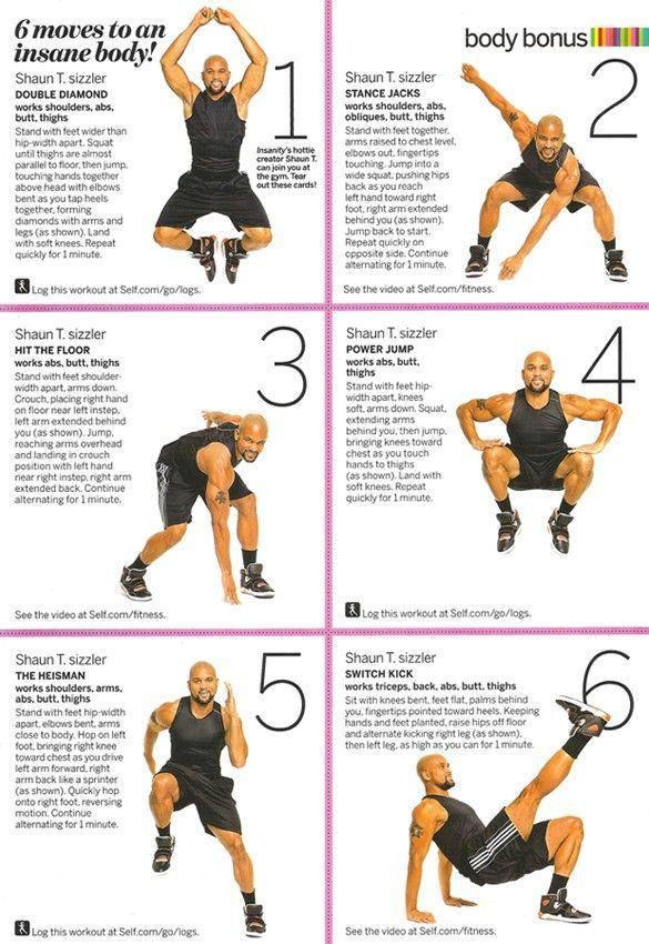 Imgur Insanity Workout Fitness Fitness Body
