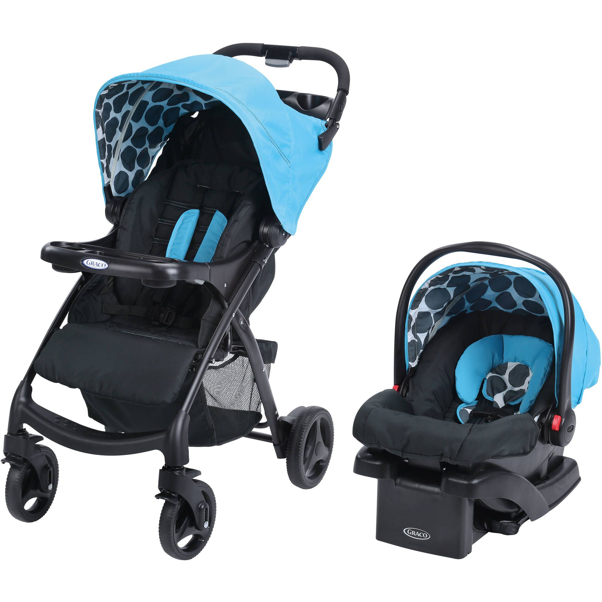 Graco Verb Click Connect Travel System, with SnugRide