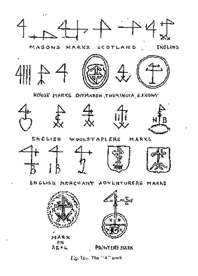 the variety of 4 marks merchants mark wikipedia the