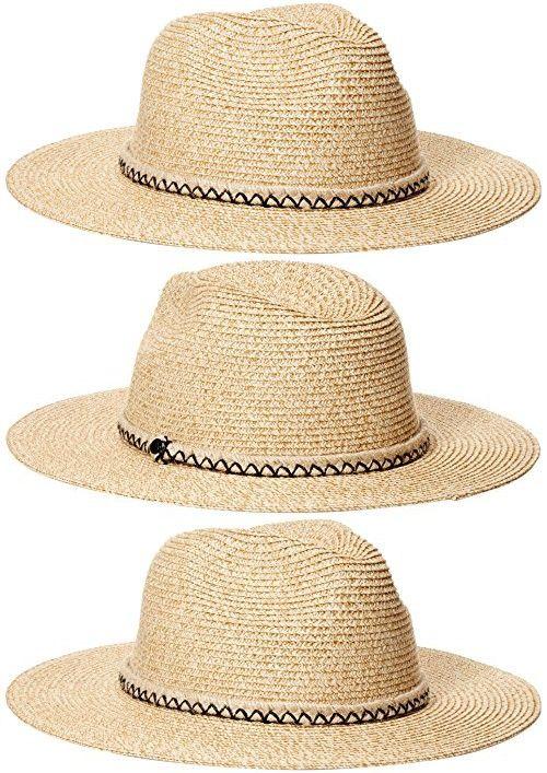 cea92ad69bfac Volcom Juniors Shady Daze Panama Straw Fedora Hat