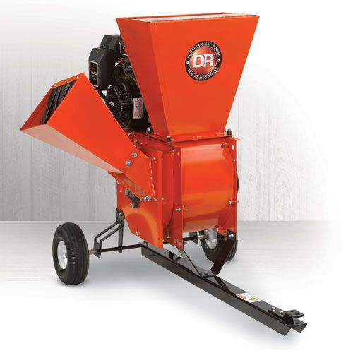 Dr Wood Chipper Shredder Wood Chipper Chippers Mulch Yard