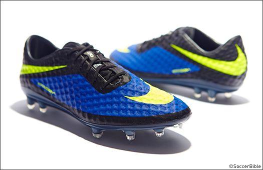 Nike HyperVenom Phantom Football Boots - Blue/Volt/Black - Football Boots